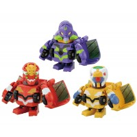 03-82792 Takara Tomy Q Transformers QTC02 Evangelion 3 Set