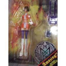 01-89265 Devilman Fewture Action Figures Second Series Miki Figure (Color  Version)
