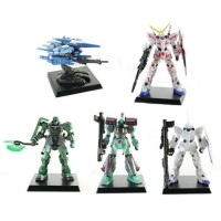 01-59828 Gundam Unicorn UC2 Digital Grade Figures 300y - Set of 5