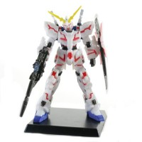 "01-59828 Gundam Unicorn UC2 Digital Grade Figures 300y - Unicorn Gundam RX-0 Ver. Ka (Red Version) (2"" Figure)"