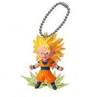 01-83833 DragonBallZ UDM Ultimate Deformed Mascot Burst 04 - Super Saiyan 3 Goku 200y