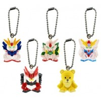 01-85073 Gundam Build Fighters Swing Mascot 200y - Set of 5