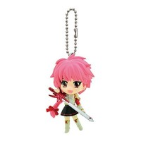 01-90728 Bandai Magic Knight Rayearth Figure Mascot Swing Keychain - Shidou Hikaru 300y