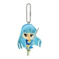 01-90728 Bandai Magic Knight Rayearth Figure Mascot Swing Keychain - Ryuuzaki Umi 300y
