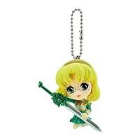 01-90728 Bandai Magic Knight Rayearth Figure Mascot Swing Keychain - Hououji Fu 300y