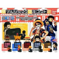 01-90889 TV Animation  One Piece Double Jack Mascot 2 200y - Set of 5