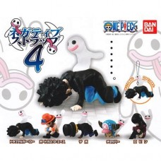 01-92195 From TV Animation ONE PIECE Negative Strap Ver. 4 200y - Set of 5