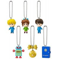 01-92205 Marmalade Boy Swing Mini Figure Mascot Key chain 200y  - Set of 6