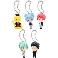01-92232  Assassination Classroom Mini Figure Mascot Key Chain Swing  1st hour 300y - Set of 6