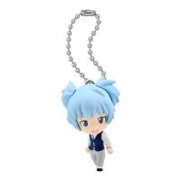 01-92232  Assassination Classroom Mini Figure Mascot Key Chain Swing  1st hour 300y - Nagisa Shiota