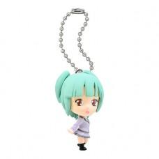 01-92232  Assassination Classroom Mini Figure Mascot Key Chain Swing  1st hour 300y - Kaede Kayano