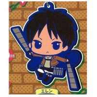 01-92264 Attack on Titan Rubber Mascot Strap - Eren Yeager