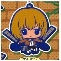 01-92264 Attack on Titan Rubber Mascot Strap - Armin Arlert