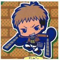 01-92264 Attack on Titan Rubber Mascot Strap - Jean kirstein