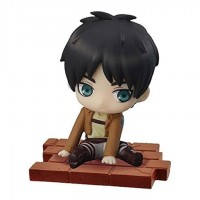 01-94104 Attack on Titan Suwarasetai Sitting Mini Figure Collection - Eren Yeager