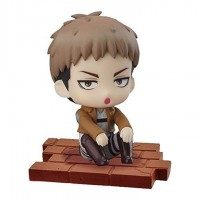 01-94104 Attack on Titan Suwarasetai Sitting Mini Figure Collection - Jean Kirstein