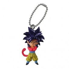 01-95735 Dragon BallZ / GT Ultimate Deformed Mascot UDM The Best 10 Mini Figure Mascot Key Chain 200y - Super Saiyan 4 Son Goku