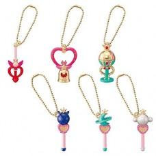 01-95771 Bishoujo Senshi Sailor Moon Super S Die Cast Charm pt 3 300y - Set of 6