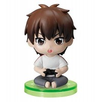 01-97116 Ace of Diamond Baseball Suwarase Team Sitting Mini Figures Capsule Toy 400y - Sawamura Eijun