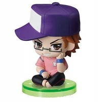 01-97116 Ace of Diamond Baseball Suwarase Team Sitting Mini Figures Capsule Toy 400y - Miyuki Kazuya