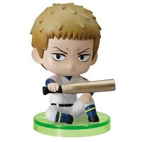 01-97116 Ace of Diamond Baseball Suwarase Team Sitting Mini Figures Capsule Toy 400y - Kanemaru Shinji