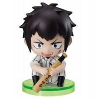 01-97116 Ace of Diamond Baseball Suwarase Team Sitting Mini Figures Capsule Toy 400y - Todoroki Raichi