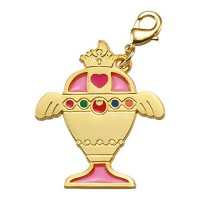 01-97187 Sailor Moon Stained Charm Locket with Clasp 300y - Rainbow Moon Chalice