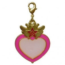 01-97187 Sailor Moon Stained Charm Locket with Clasp 300y - Chibi Moon Compact