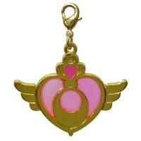 01-97187 Sailor Moon Stained Charm Locket with Clasp 300y - Moon Crisis Compact