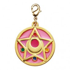 01-97187 Sailor Moon Stained Charm Locket with Clasp 300y - Crystal Star Compact