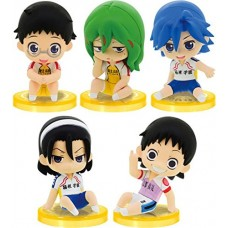 01-97259 Yowa Mushi Pedal Grande Road Corps 1 Mini Figure with Stand 400y - Set of 5