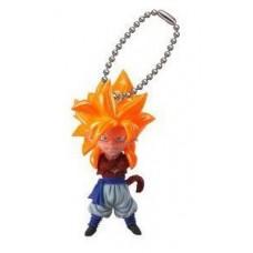 "01-06522 Bandai Dragon Ball Z UDM Burst 20 Keychain Figure Mascot ~1.5"" - Super Saiyan..."