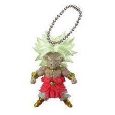 01-06522 Bandai Dragon Ball Z UDM Ultimate Deformed Mascot  Burst 20 Keychain Figure Mascot - Super Saiyan Broly