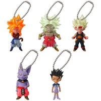 01-06522 Gashapon Dragon Ball Z UDM Ultimate Deformed Mascot Burst 20 200y - Set of 5