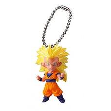 01-06530 Dragon Ball Super Ultimate Deformed Mascot Burst 24 200y - Super Saiyan 3 SS3 Goku