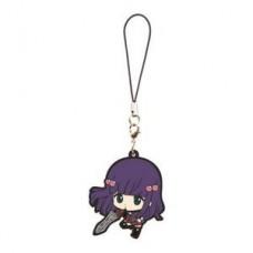 """01-06573 Bandai Twin Star Exorcist Sousei no Onmyouji Capsule Rubber Mascot Figure ~2"""" - Benio Adashino"""