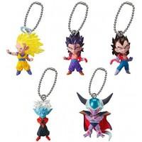 01-11469 Dragon Ball Super UDM Ultimate Defomed Mascot The Best 17 200y - Set of 5
