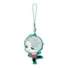 01-13273 Bandai Yuri!!! on Ice Capsule Rubber Mascot 300y - Victor Nikiforov