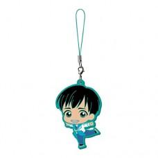01-13273 Bandai Yuri!!! on Ice Capsule Rubber Mascot 300y - Phichit Chulanont