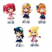 01-13309 Love Live! Sunshine!! School Idol Project Cho Collect Plus Part 2 Mini Figure  400y - Set of 5