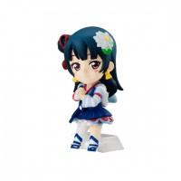 01-13309 Love Live! Sunshine!! School Idol Project Cho Collect Plus Part 2 Mini Figure  400y - Yoshiko Tsushima