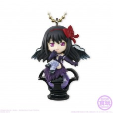 01-14119 Bandai Shokugan Puella Magi Madoka Magica Twinkle Dolly  800y - Devil Homura & Dark Orb