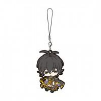 01-17929 Bungo To Alchemist Capsule Rubber Mascot 300y - Shimazaki Touson
