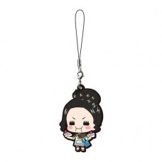 01-17955 Bandai  Black Clover Capsule Rubber Mascot Strap 300y - Charmy Pappitson