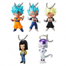 01-18039 Bandai  Dragon Ball Super Ultimate Deformed Mascot (UDM) Burst Pt. 29 200y - Set of 5