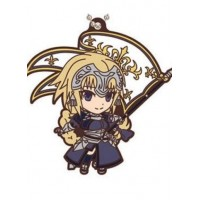 01-18277 Fate / Apocrypha Capsule Rubber Mascot 300y  -  Jeanne d'Arc Ruler