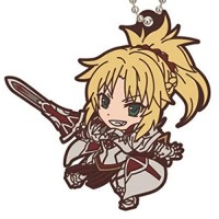 01-18277 Fate / Apocrypha Capsule Rubber Mascot 300y  -  Mordred Saber of Red