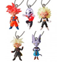 01-22783 Bandai  Dragon Ball Super Ultimate Deformed Mascot (UDM) The Best 23 200y - Set of 5