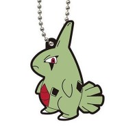 02-23311 Bandai  Pocket Monster Pokemon Capsule rubber Mascot Vol. 6 300y - Larvitar