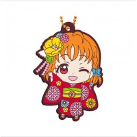 01-23379 Bandai  School Idol Project Love Live! Sunshine!! Capsule Rubber Mascot Vol. 8 300y - Chika Takami